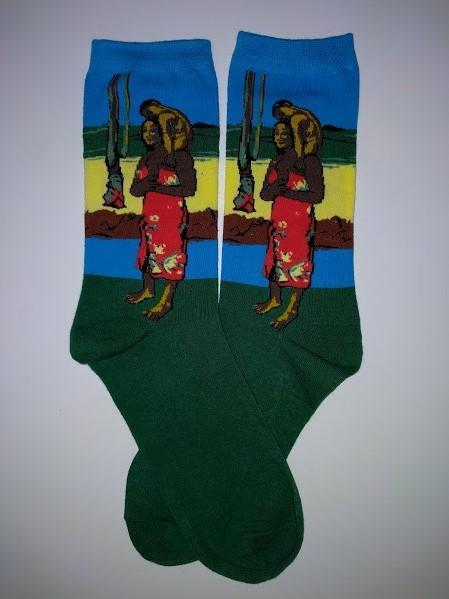 Hail Mary by Paul Gauguin Crew Socks