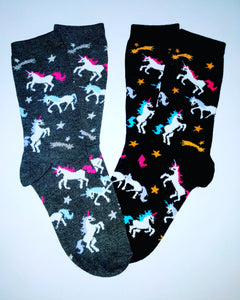 Unicorn Star Crew Socks