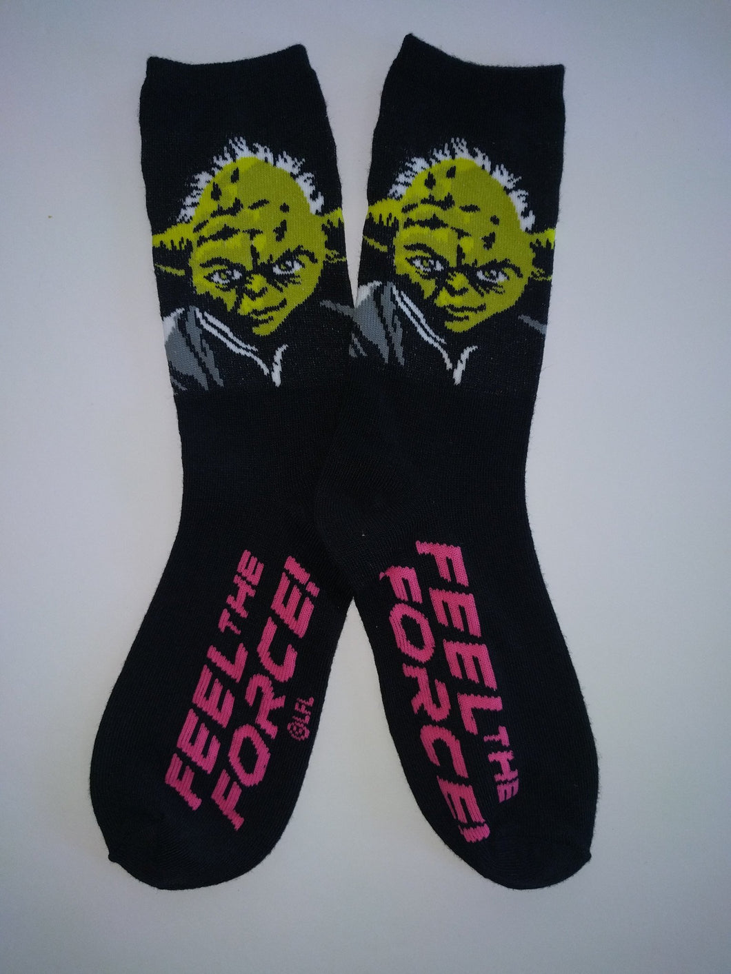 Yoda Feel the Force Female Crew Socks