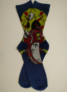 Eye Ball Zombie Crew Socks