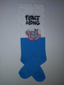 Hippo Float Knee High Socks