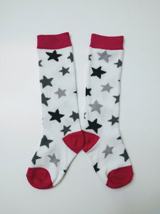 Star Knee High Socks