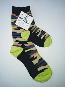 Mother and Child Matching Crew Socks (Medium)