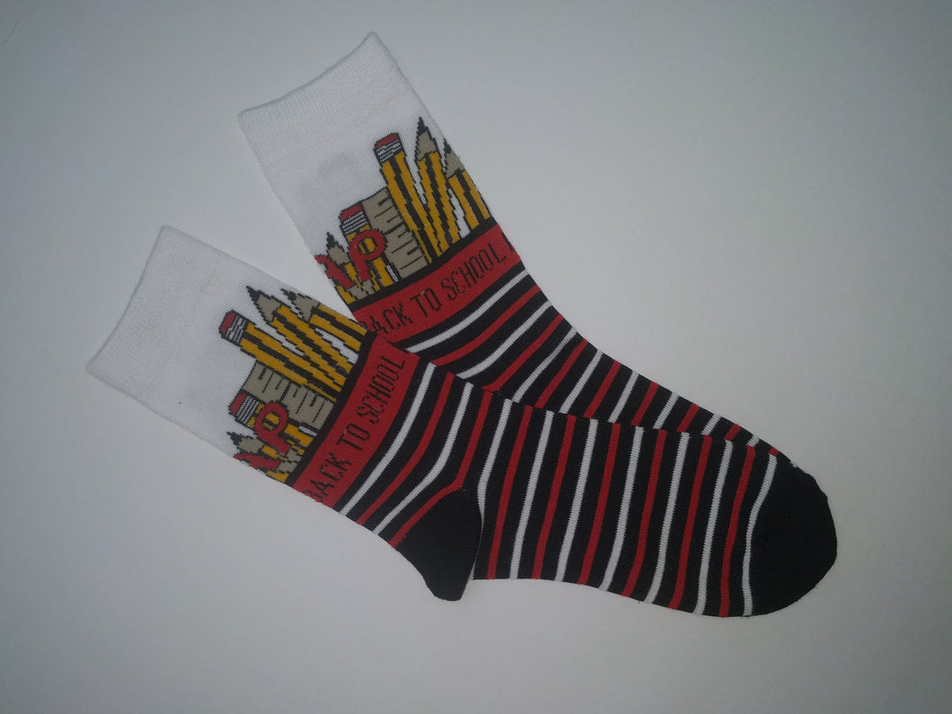 Back to School Crew Socks