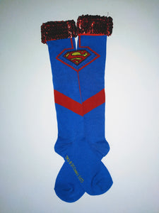 Superman Knee High Socks