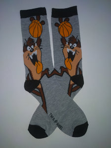 Taz Tasmanian Basketball Crew Socks