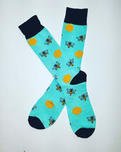 Bee Honey Comb Crew Socks