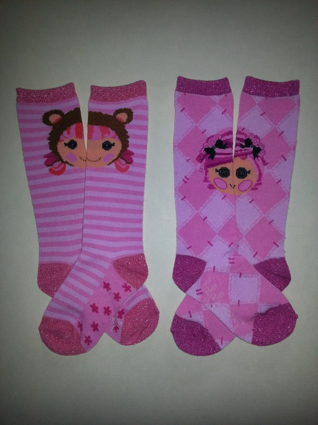 La La Loopies Set of Knee High Socks