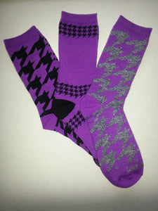 Random Pair of Pattern Crew Socks