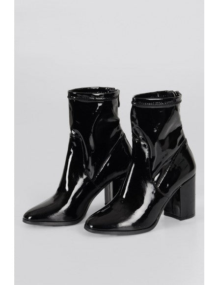 Molly Bracken Patent Boots