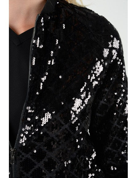 Molly Bracken Sequin Jacket