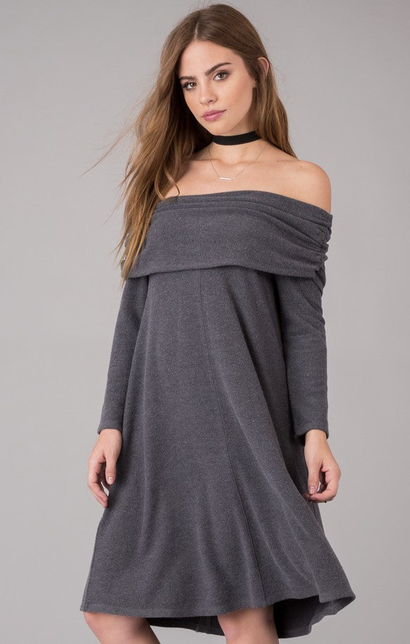 Others Follow  Roslynn Off-The-Shoulder-Dress