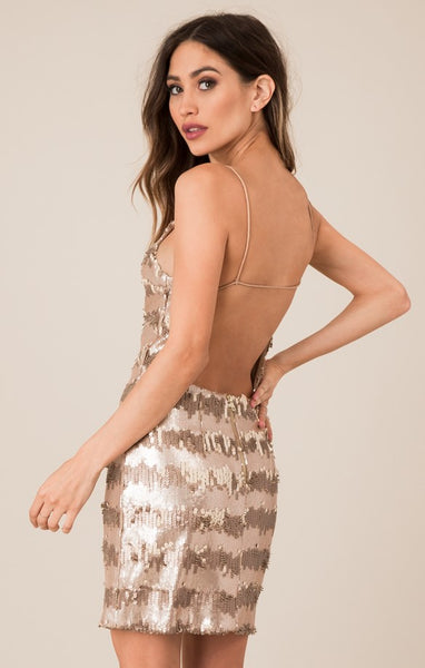 Black Swan  Sadie Sequin Dress