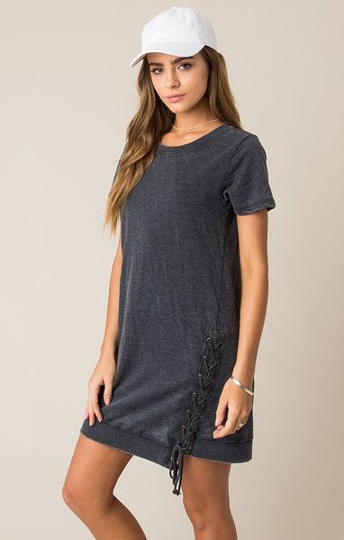 Others Follow  Chill Out Lace-Up Dress