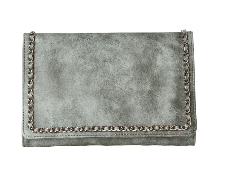 Jeane and Jax Sage Clutch