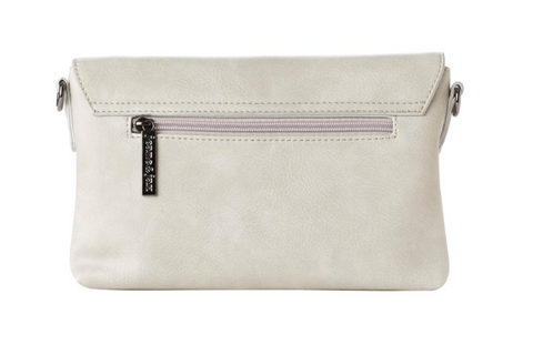 Jeane and Jax Ice Grey Clutch