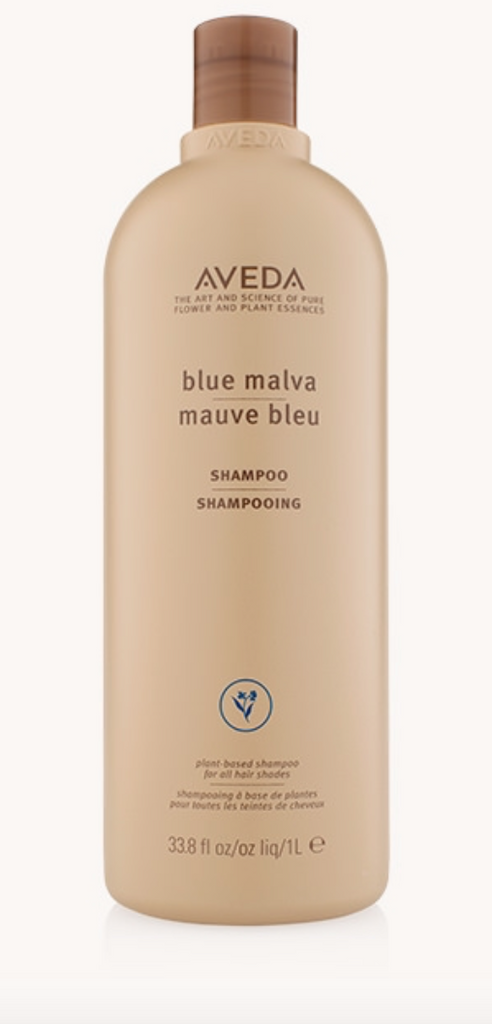 The Aveda Blue Malva Shampoo