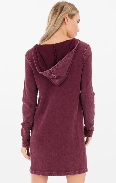 Others Follow  Andie Hooded Lace-up Dress
