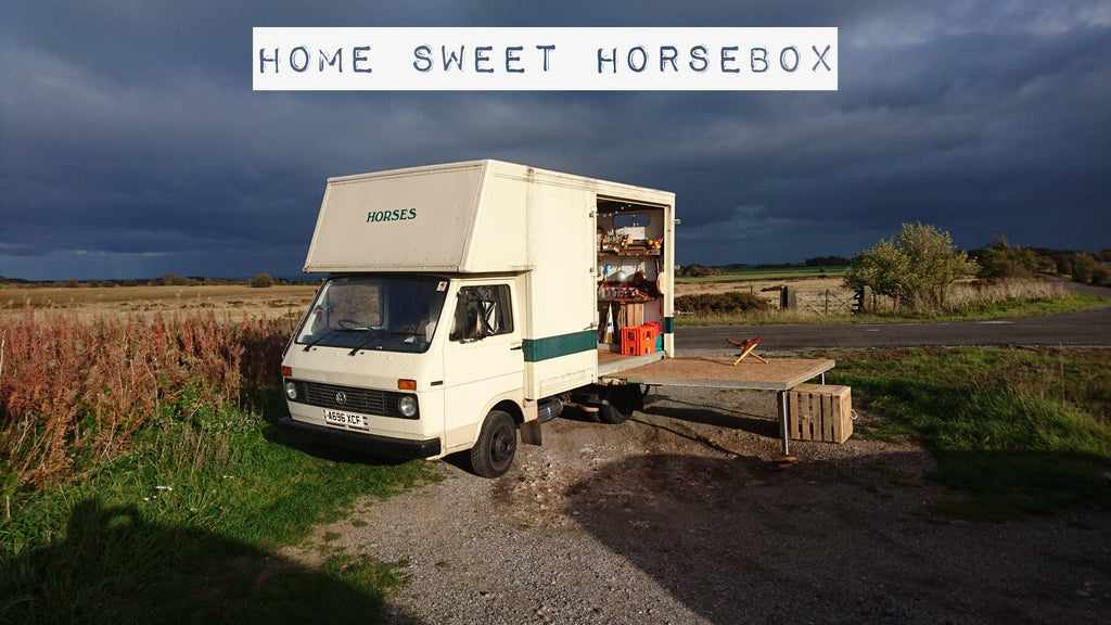How I converted a Horsebox into a Tiny House