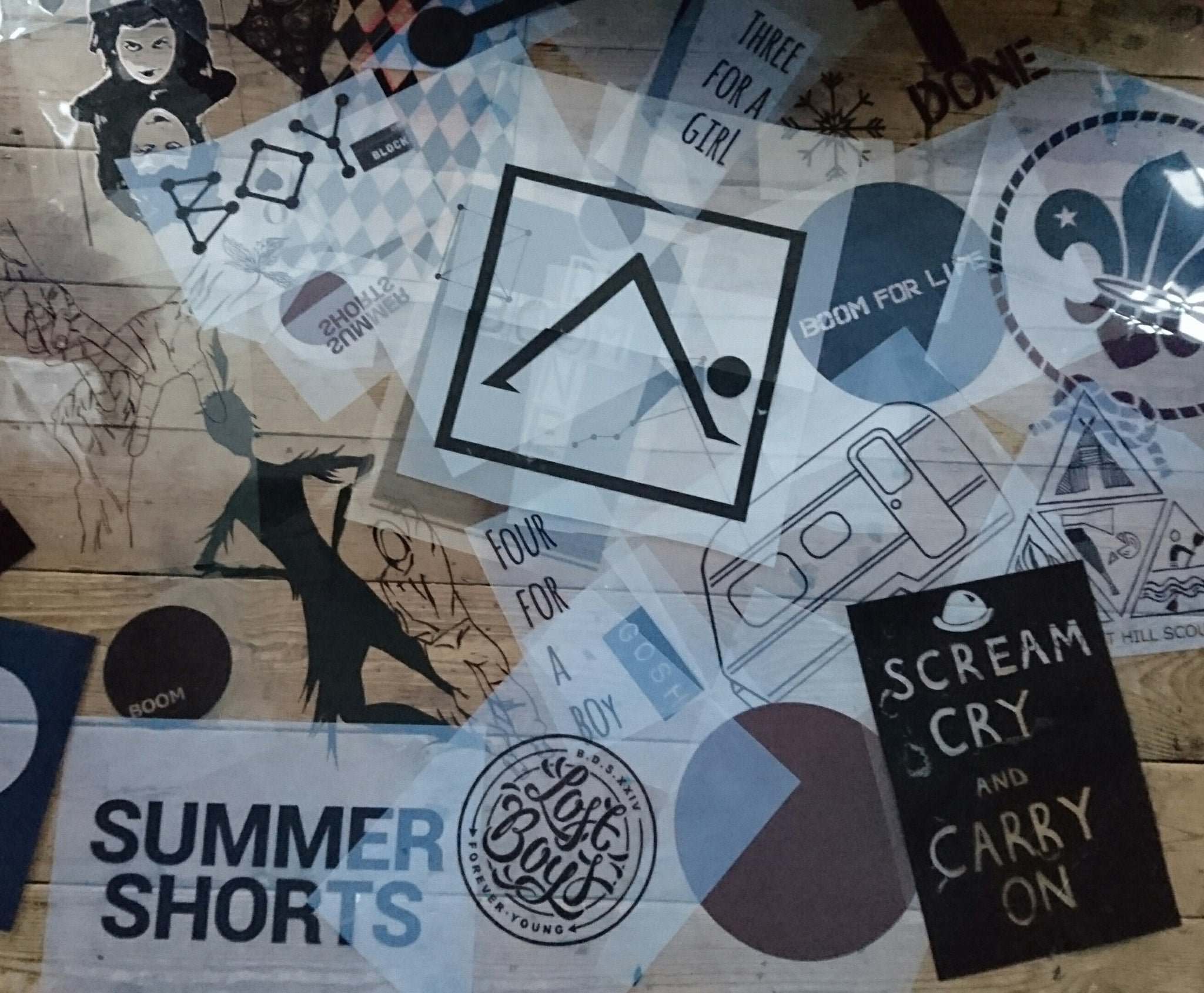 How To Screen Print From Scratch By Boom Done Shop Hunt The Moon