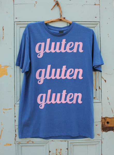 BOOM GLUTEN FREE ETHICAL T-SHIRT