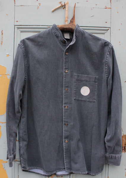 Midnight Moon upcycled vintage shirt