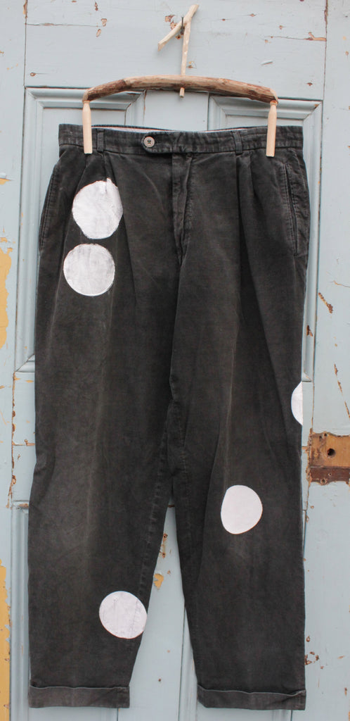 CHAPLIN upcycled vintage slouch trousers