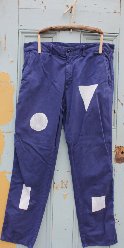 SHAPES upcycled vintage WORKWEAR trousers