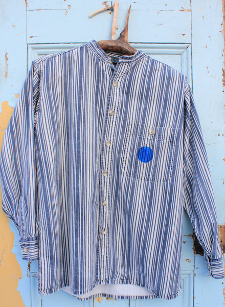 Wild West upcycled vintage shirt