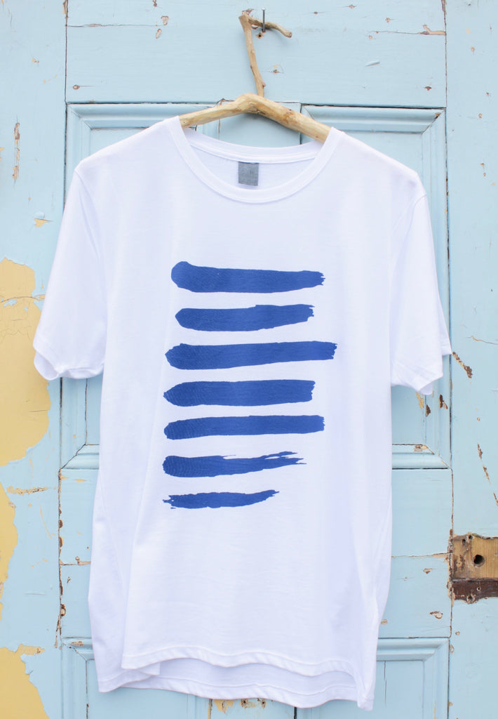 BLUE t-shirt by Tom Austen LIMITED EDITION