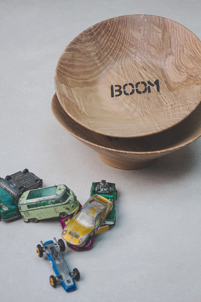 BOOM wooden bowl