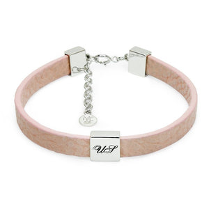 Load image into Gallery viewer, Pink Oasis Leather Bracelet