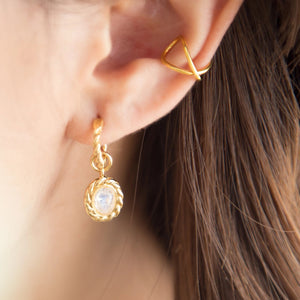 Lean on Ear Cuff in Gold