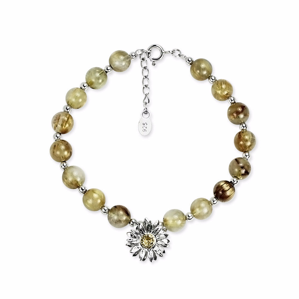 Load image into Gallery viewer, Little Golden Sunflower Bracelet