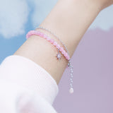 Bubbly Dream Bracelet - Rose Quarts