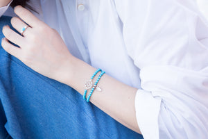 Dream in Blue Sky Bracelet - Turquoise