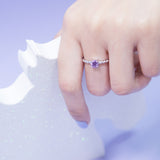 Stackable Dream Ring - Amethyst