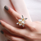 Be Always Blooming Cocktail Ring (1)