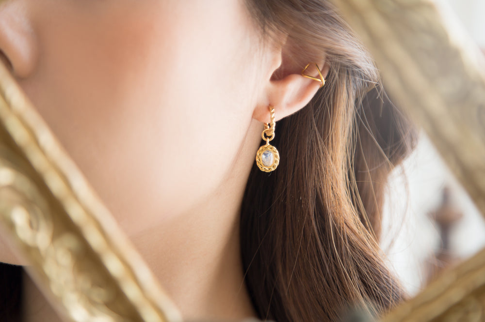 Gentle Moon Earrings