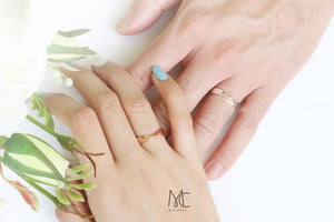 Promotion | Glad We Met Couple Ring