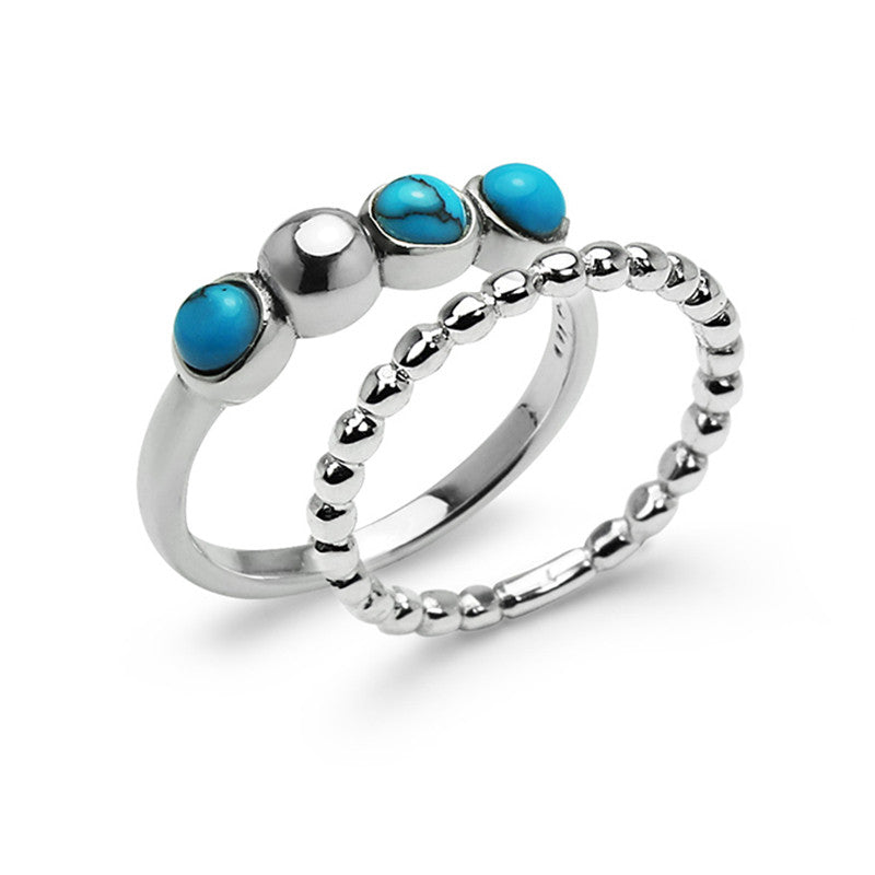 Sea Calls Ring Set