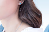 A Part of Dreamcatcher Earrings - Turquoise