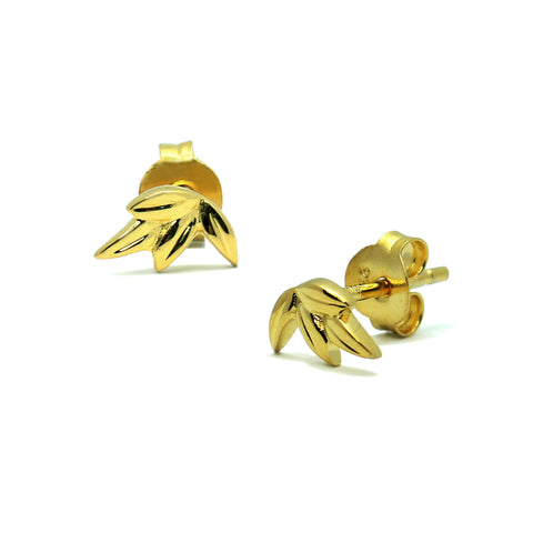 Little Olive Leaves Earrings (G)