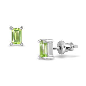 Baby Green Earrings