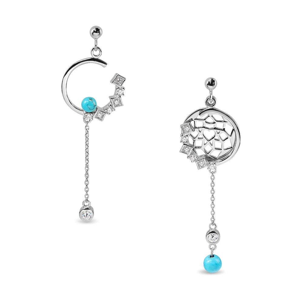 Good Dream Earrings – Series : Vivid Blue Sky