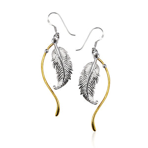 Load image into Gallery viewer, Angel Trace Earrings - (85)