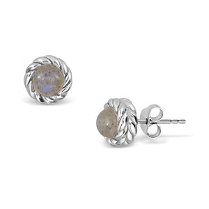 Grey Cloud Earrings