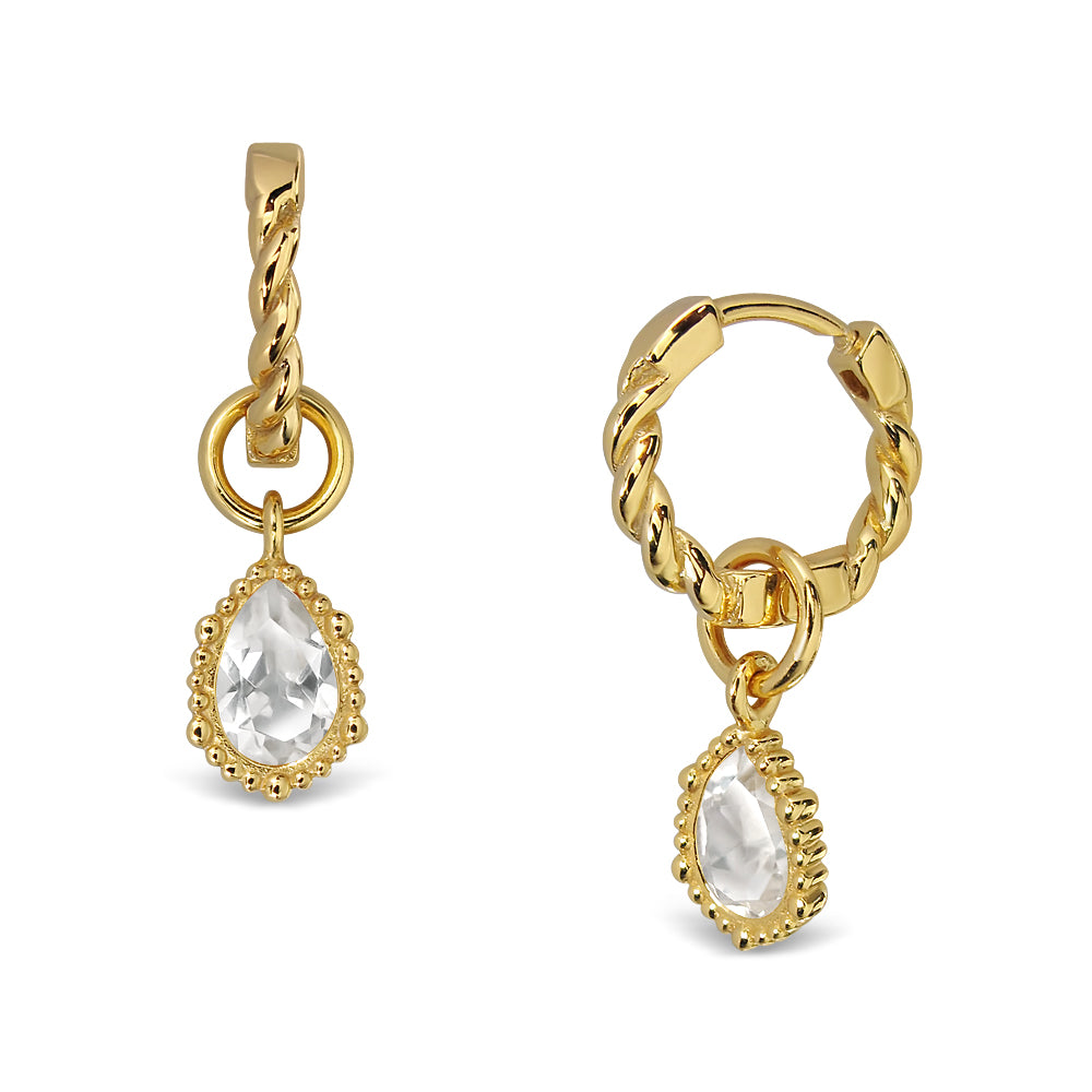 Charming Day Earrings - Gold
