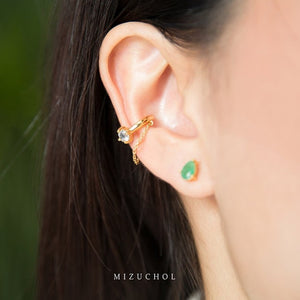 Load image into Gallery viewer, Golden Layer Ear Cuff