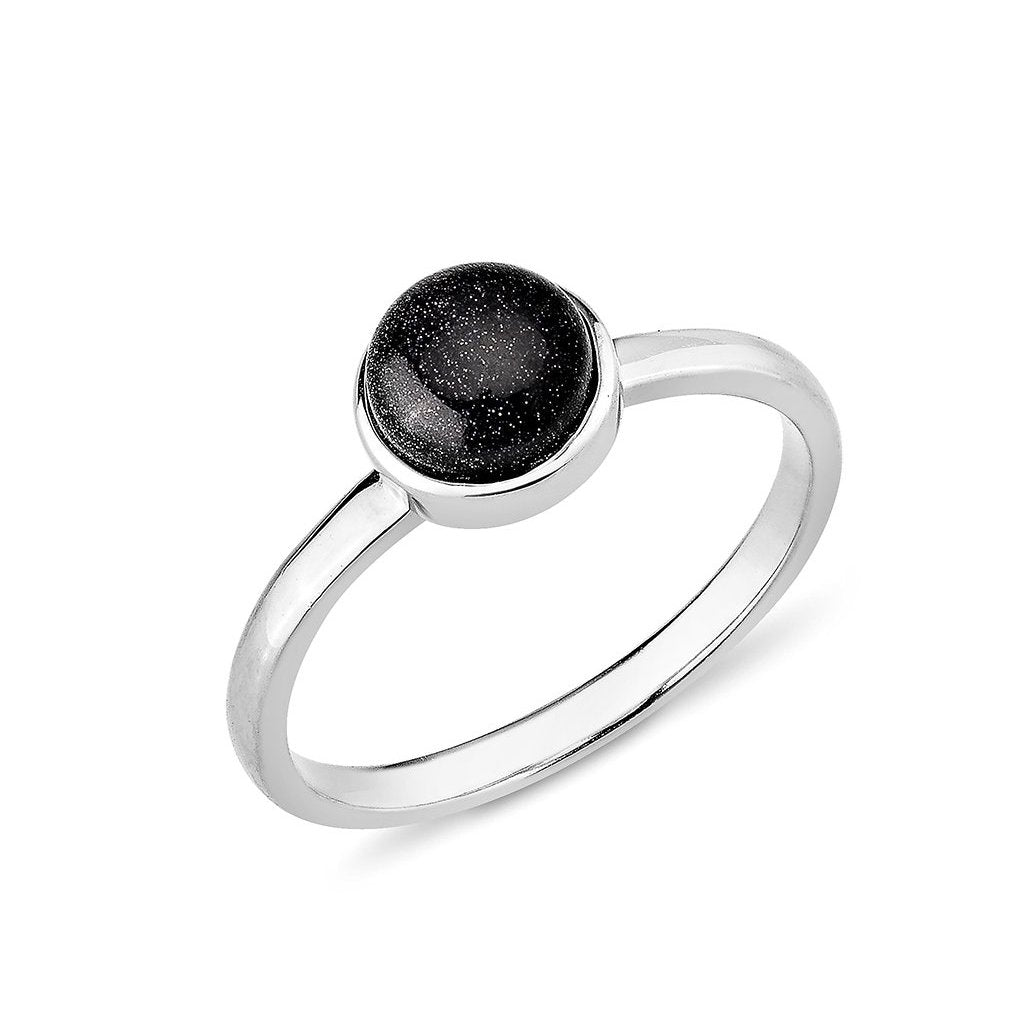 Silver Night Ring